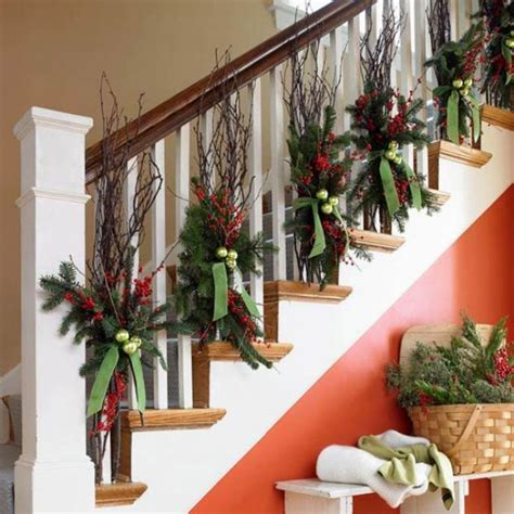 banister decorating ideas holidays and events