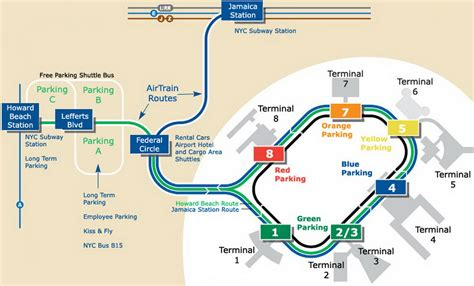 jfk terminal 4 map jfk airport map my