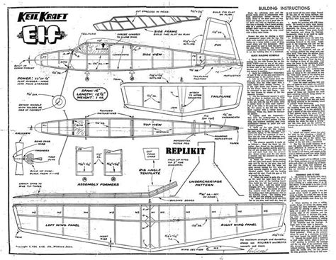 elf boat plans keil kraft elf plans aerofred download free model