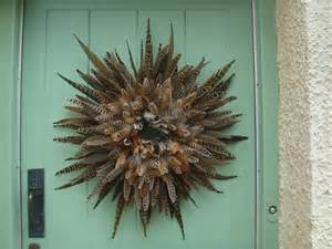 feather wreath picture how to make feather wreath home
