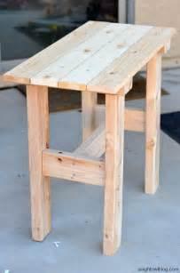 diy small table diy porch table a night owl blog