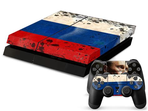 Ps4 Aufkleber Bosnien by Russland Flagge Playstation 4 Skin
