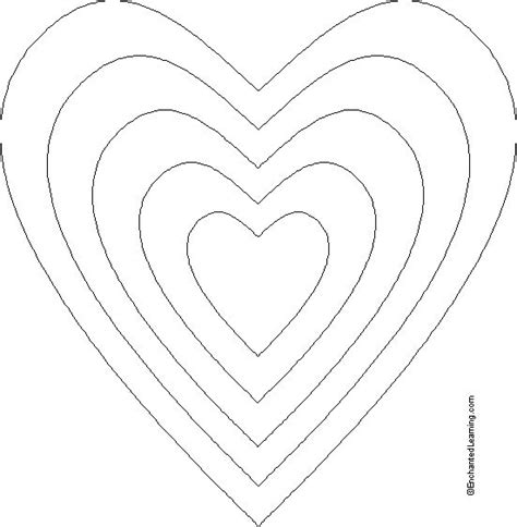 printable heart puzzle template best 25 heart template ideas on pinterest printable