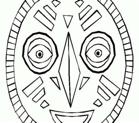 african mask coloring pages african masks coloring pages