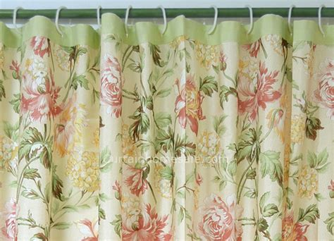 floral shower curtains fabric japanese floral beige fabric shower curtain liner and print