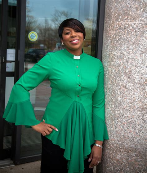 english fashion designer launches updated clerical line