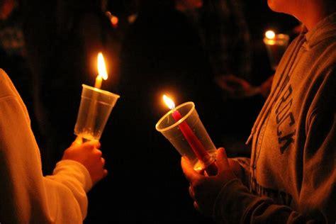 Candle Light Vigil by The Rocket Candlelight Vigil Honors Lgbtqia