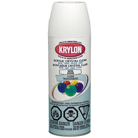 home depot krylon paint krylon quot acrylic clear quot indoor outdoor spray