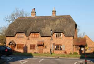 thatched roof 1990s thatched new house dunchurch 169 andy f geograph britain