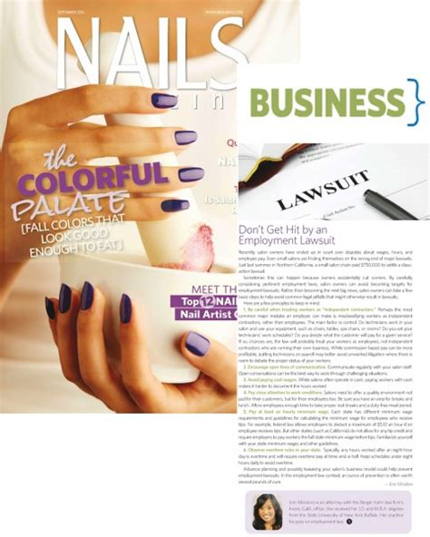 nails magazine nail salon techniques nail art business six business tips for nail salon owners from berger kahn
