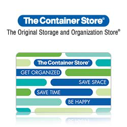 The Container Store Gift Card - the children s place giftbasketstation com
