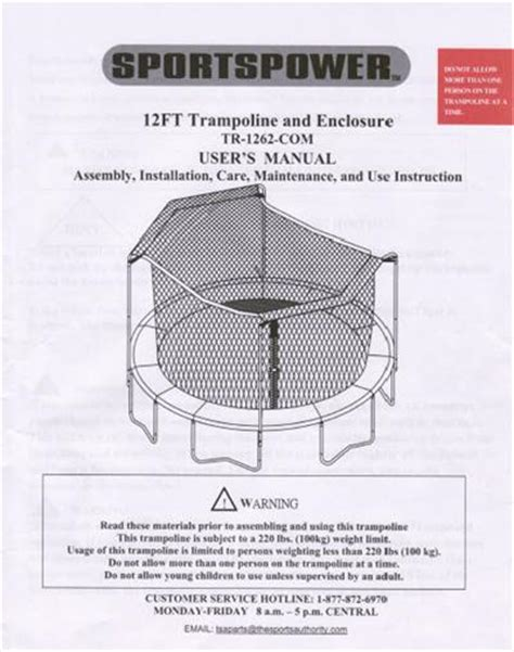 sportspower swing set manual manual for the 12 sportspower tr 1262 com
