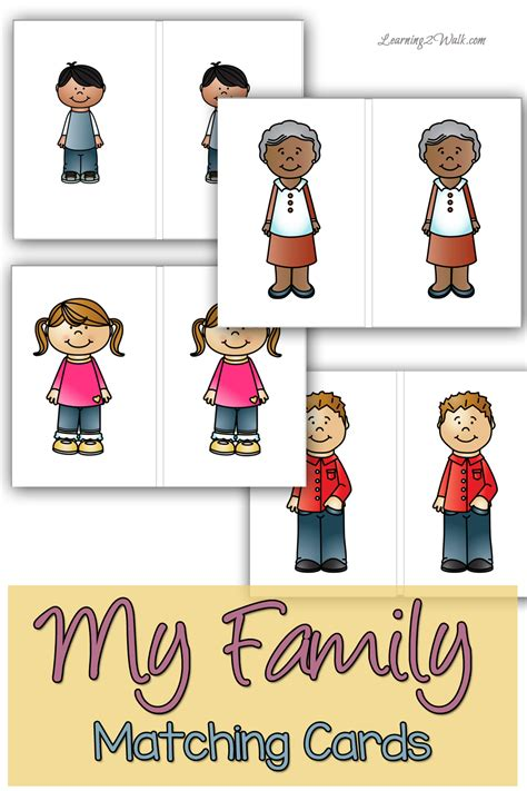 Family Activities by My Family Preschool Maths Activity Family Preschool
