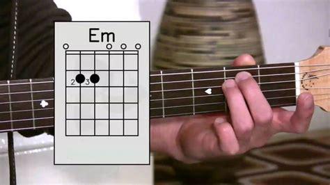belajar kunci gitar c minor 9 cara belajar bermain gitar untuk pemula kunci dasar