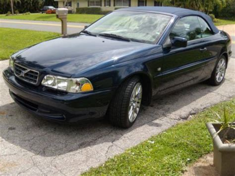 volvo c70 parts sell used 2004 volvo c70 convertible florida car lots