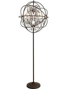 floor chandeliers artwood gyro chandelier floor l