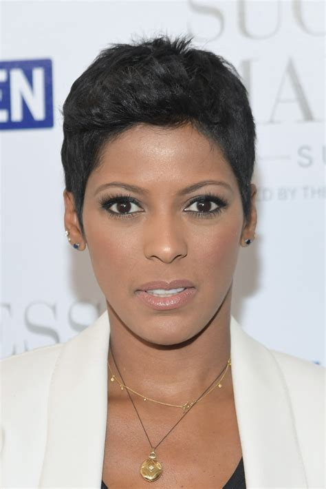 tamron hall hair style tamron hall boy cut short hairstyles lookbook stylebistro