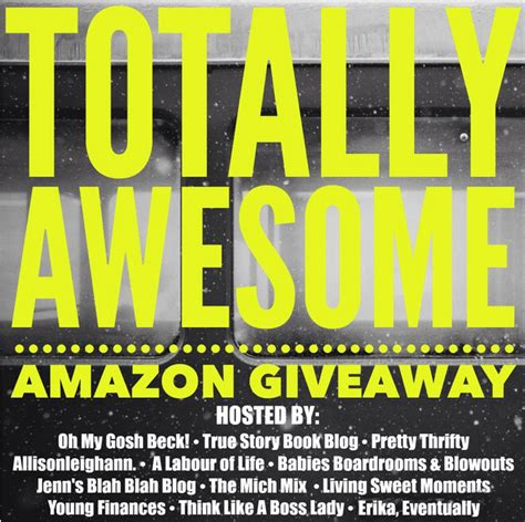 Amazon Giveaway - don t miss this amazon giveaway jenns blah blah blog