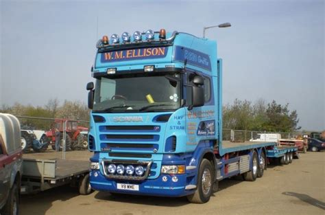 truck photos scania r620 v8 6x2 tri axle drawbar