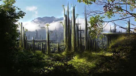 Living Landscape Definition Science Fiction Wallpapers Wallpaper Cave