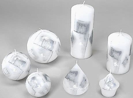 Kerzen Wandhalter Silber by Kerzen