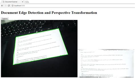 web scanner how to build web document scanner using opencv python
