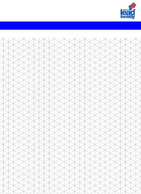 isometric paper isometric graph paper in word and pdf formats