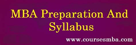 Mba Preparation mba preparation and syllabus 2017 mat xat cat