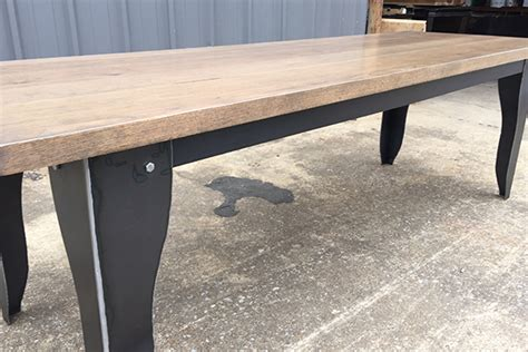 industrial farmhouse dining table coastal industrial traditional twist dining table the