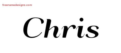 chris name tattoo designs deco name designs chris graphic free