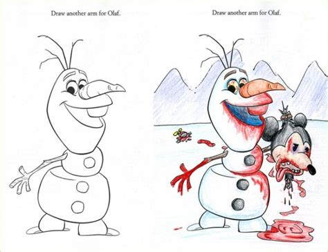 disturbing coloring book corruptions creepiest things found in drawings 4 9 are