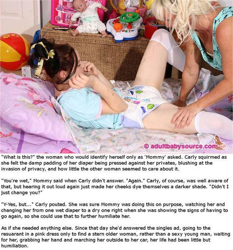 Femdom diaper control story