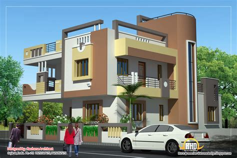 house elevations duplex house plan and elevation 2878 sq ft kerala
