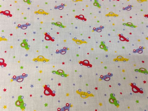 childrens upholstery fabric cotton children s kids fabric car print 44 quot wide