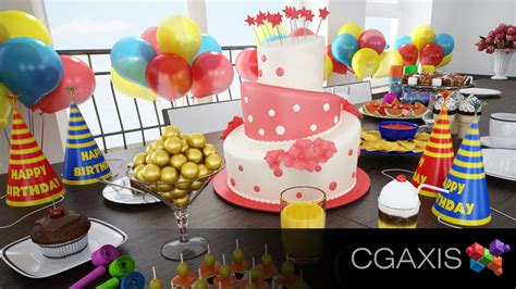 Best Birthday Giveaways - cgaxis giveaway 3d architectural visualization rendering blog