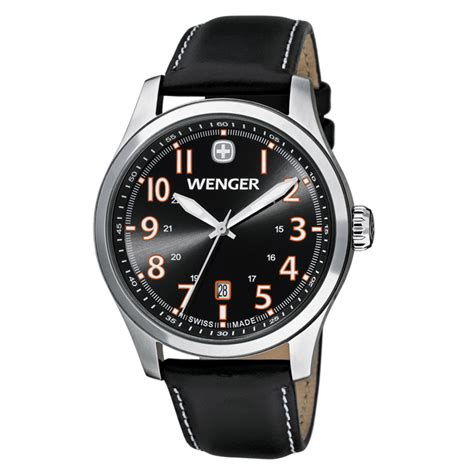 wenger swiss watches terragraph black and genuine