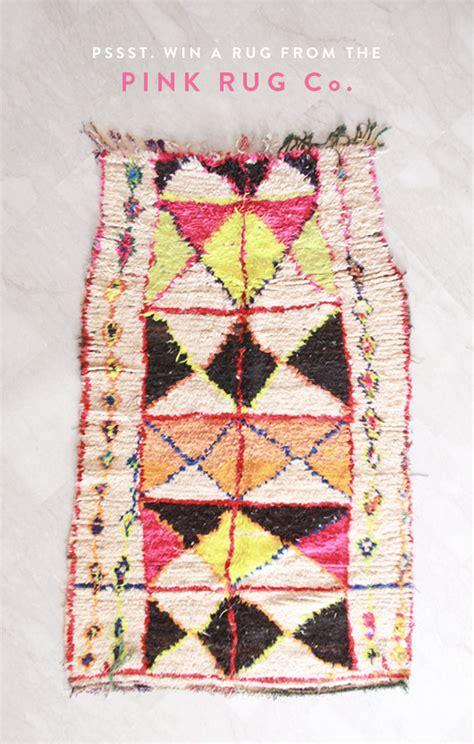 pink rug co the pink rug co rug giveaway sfgirlbybay sfgirlbybay