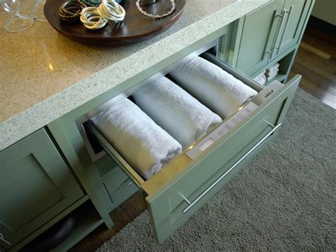 towel warming drawer bathroom hgtv dream home 2010 master bathroom pictures and video