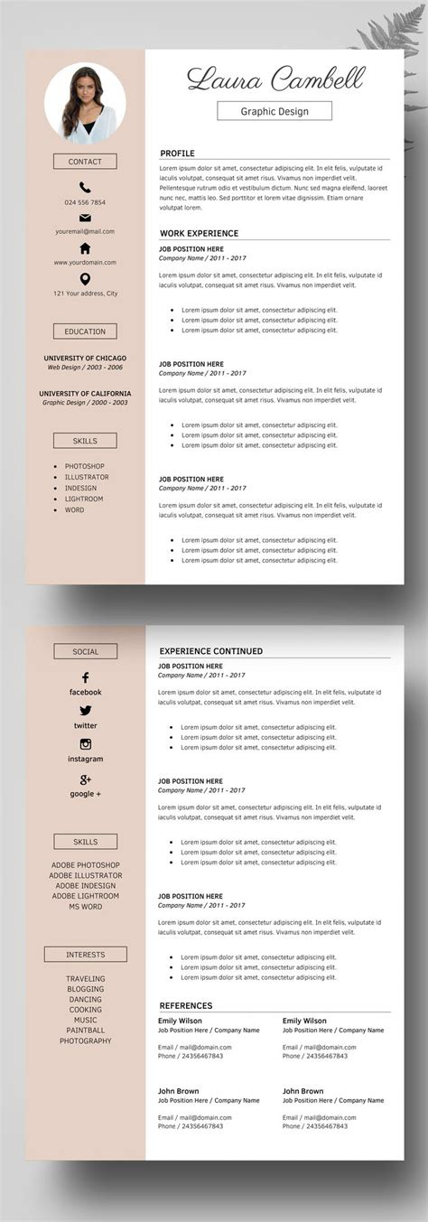 cv format example south africa template curriculum vitae examples