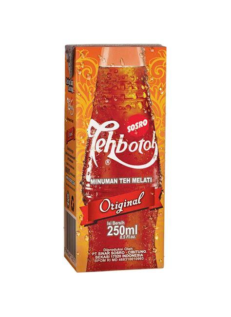 Teh Botol Sosro 500ml sosro teh botol kotak tpk 250ml klikindomaret