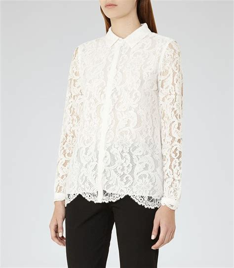 Ready Cabe Blouse yasmina white lace blouse lace and lace blouses