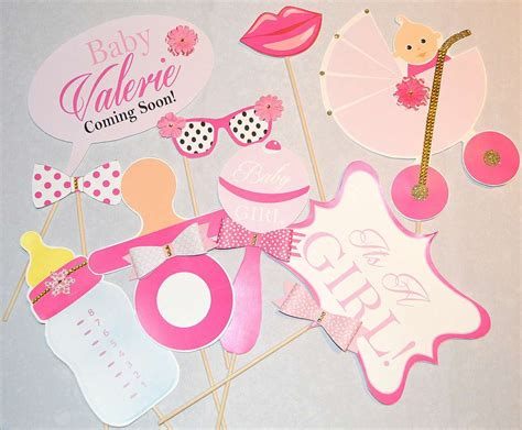 Baby Shower Photo Booth Ideas by Kate Spade Inspired Baby Shower Photo Booth Props Baby