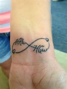 children s names tattoo designs infinity tattoo with children s names tattoos pinterest infinity tattoos initials and