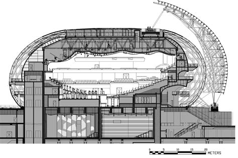 auditorium plan and section news 17 05 no 353 nagata acoustics