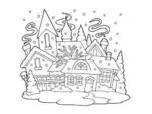 coloriage hiver 24 dessins 224 imprimer