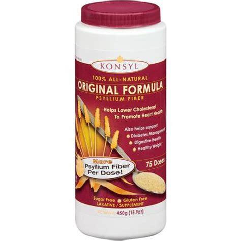 Fiber Herb Tablets Original konsyl original formula 100 all psyllium fiber