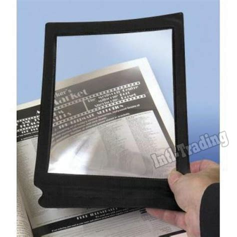 whole page magnifier with light 28 page magnifiers turn every book magnifier lens