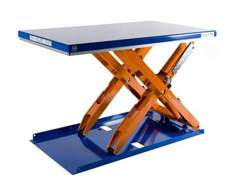 Lifting Table by Scissor Lift Tables Low Profile Tcl 1000 Edmolift