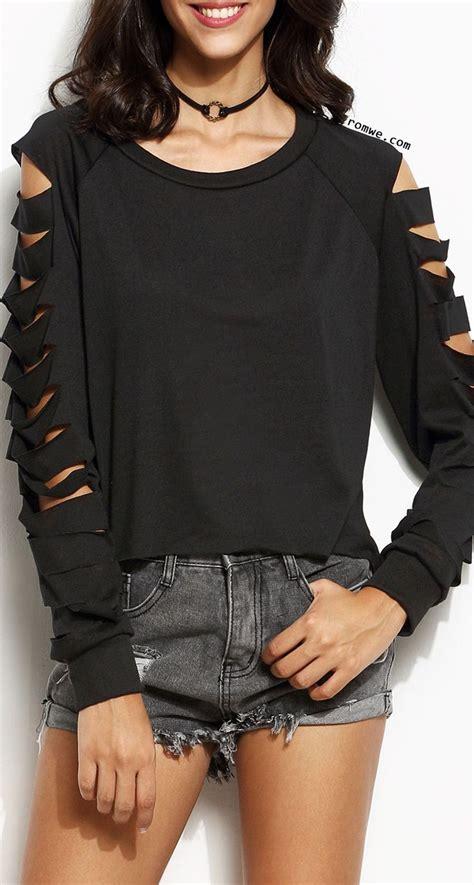 diy cut shirt sleeves 254 best diy clothes images on diy shirt cut t shirts and diy clothes