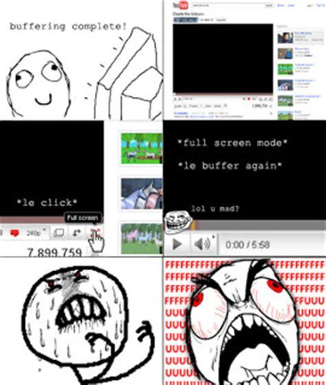2011 Internet Prank Meme - rage comics youtube buffering charlie the unicorn